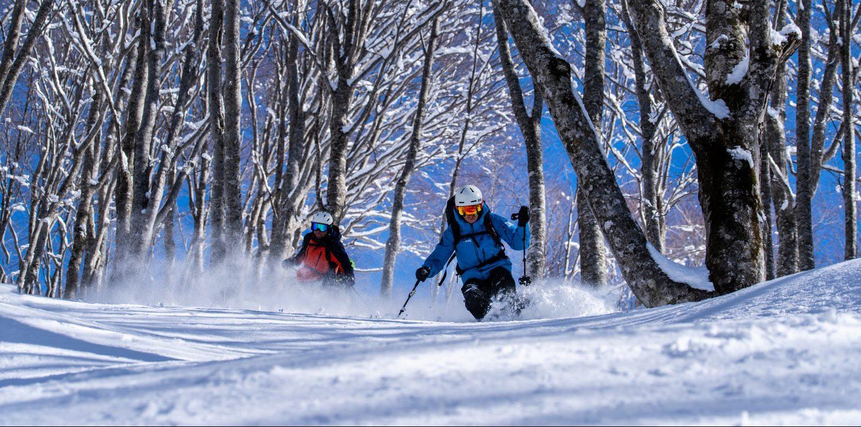 mini ski season in hakuba